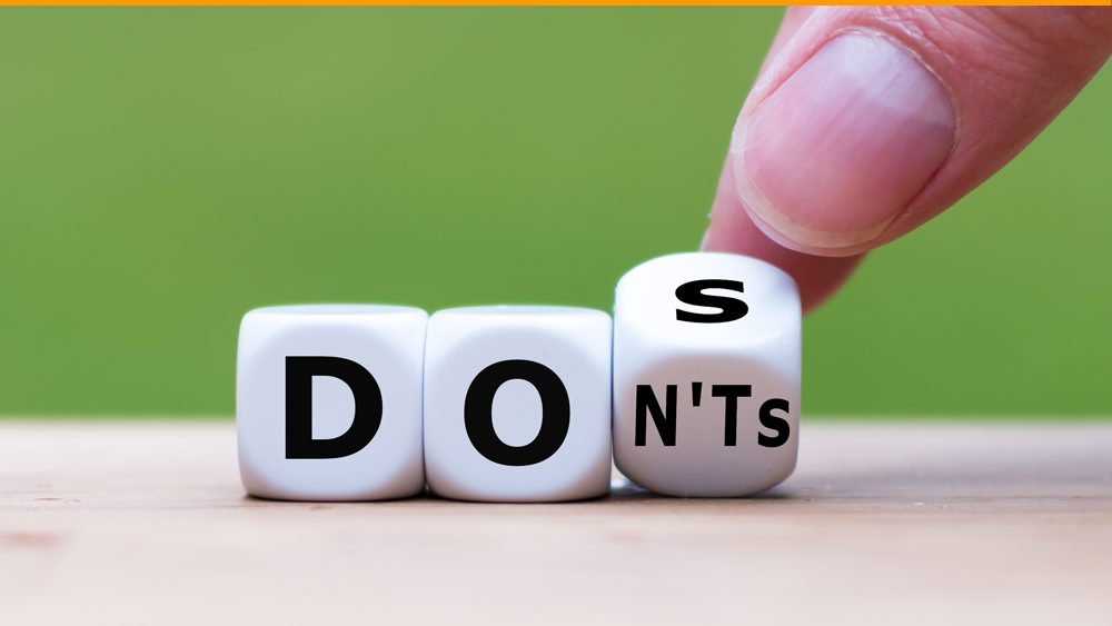 Deliverability: 10 Don'ts and 10 dos