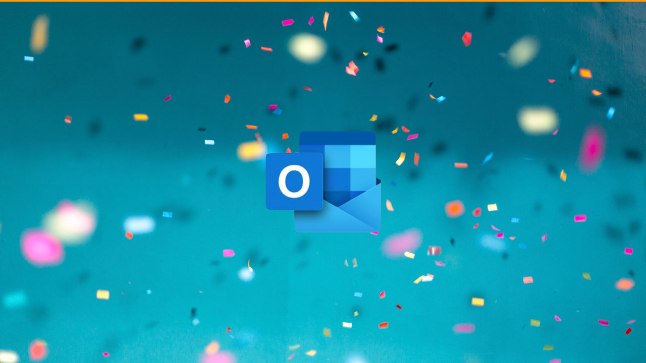 Joyful Animations in Outlook