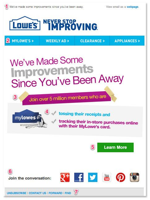 lowes reengage
