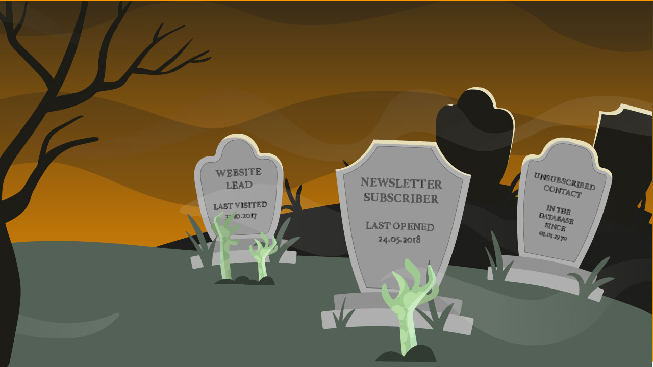 Email software with automatic zombie detection