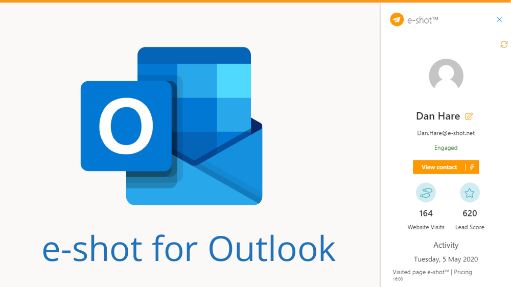 e-shot add-in for Microsoft Outlook